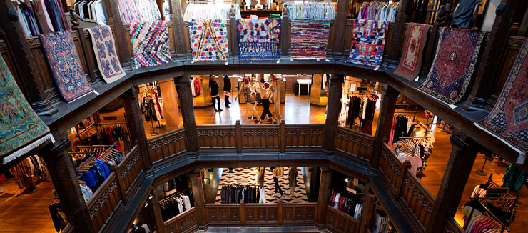 Liberty of London interior