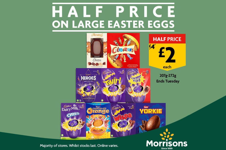 Morrisons Easter