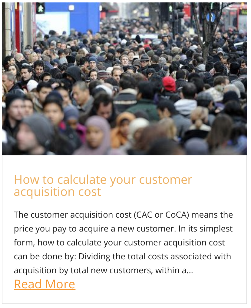 How to calculate your customer acquisition cost