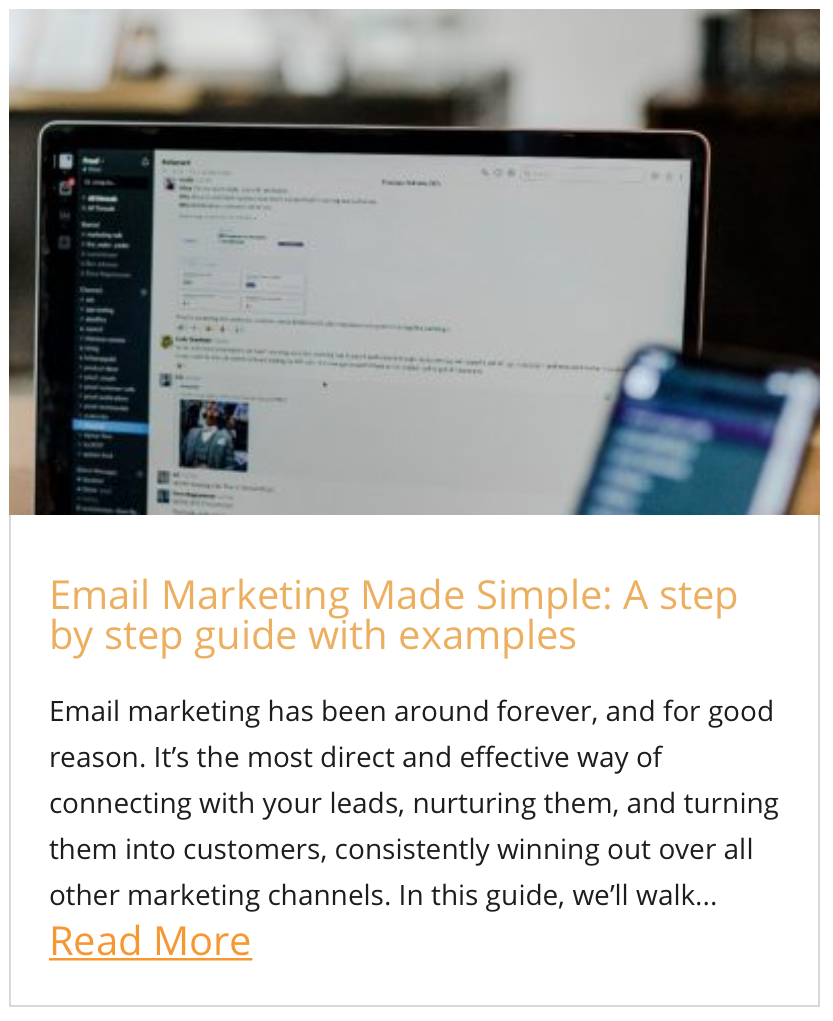Email Marketing Made Simple: A step by step guide with examples