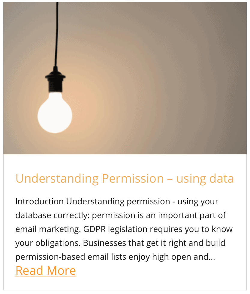 Understanding Permission – using data