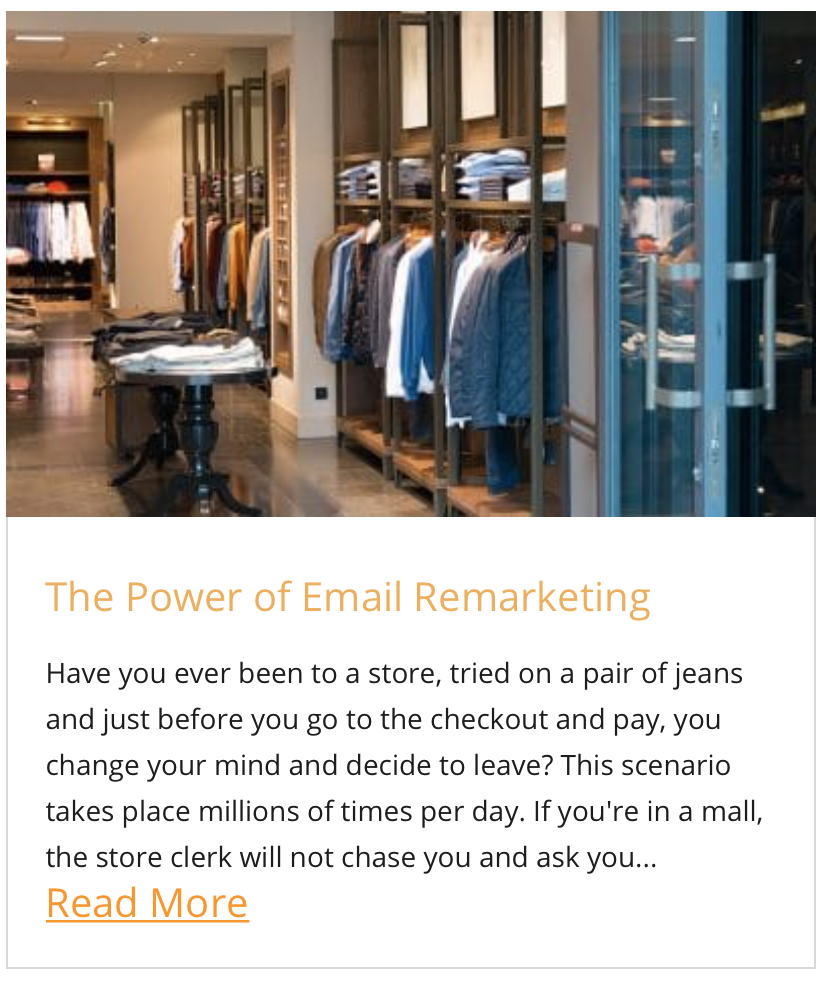 The Power of Email Remarketing