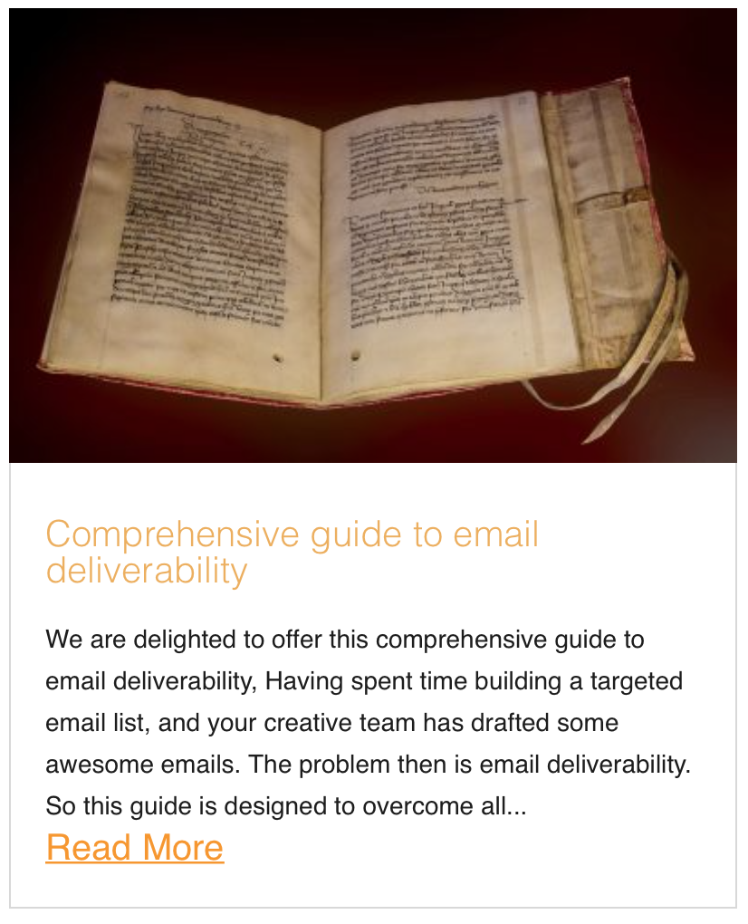Comprehensive guide to email deliverability