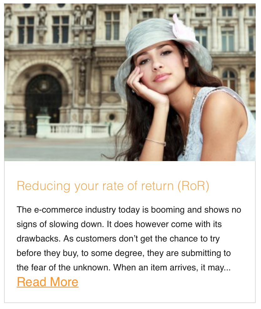 educing your rate of return (RoR)