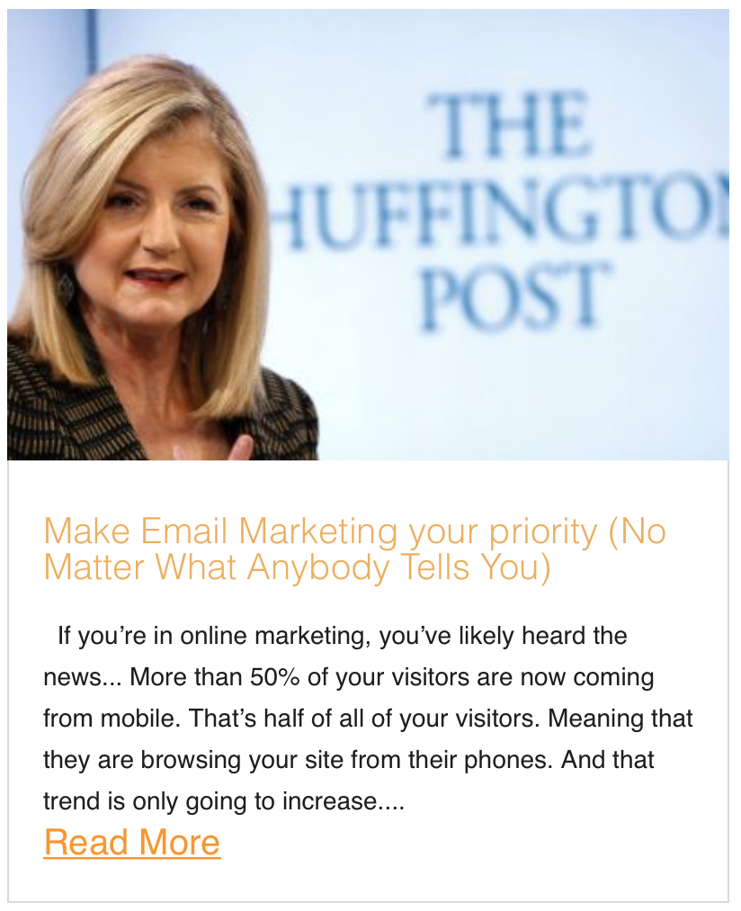Make Email Marketing your priority (No Matter What Anybody Tells You)
