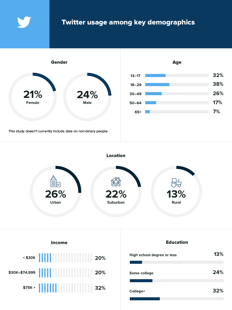Social media demographics to inform your brand's strategy