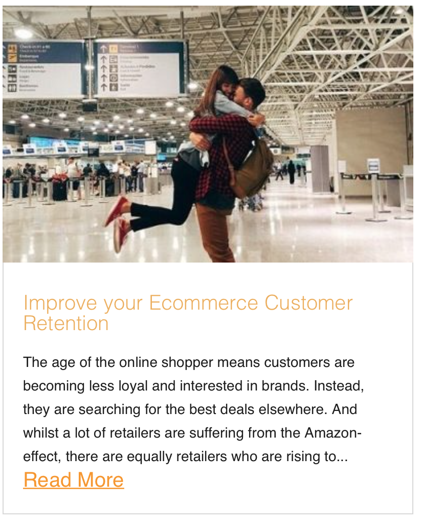 Improve your Ecommerce Customer Retention