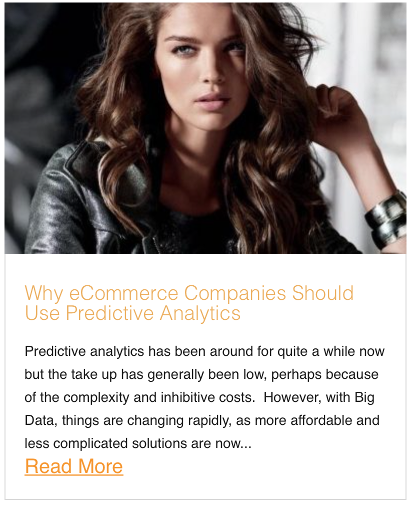 Why eCommerce Companies Should Use Predictive Analytics
