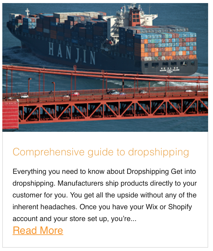 Comprehensive guide to dropshipping