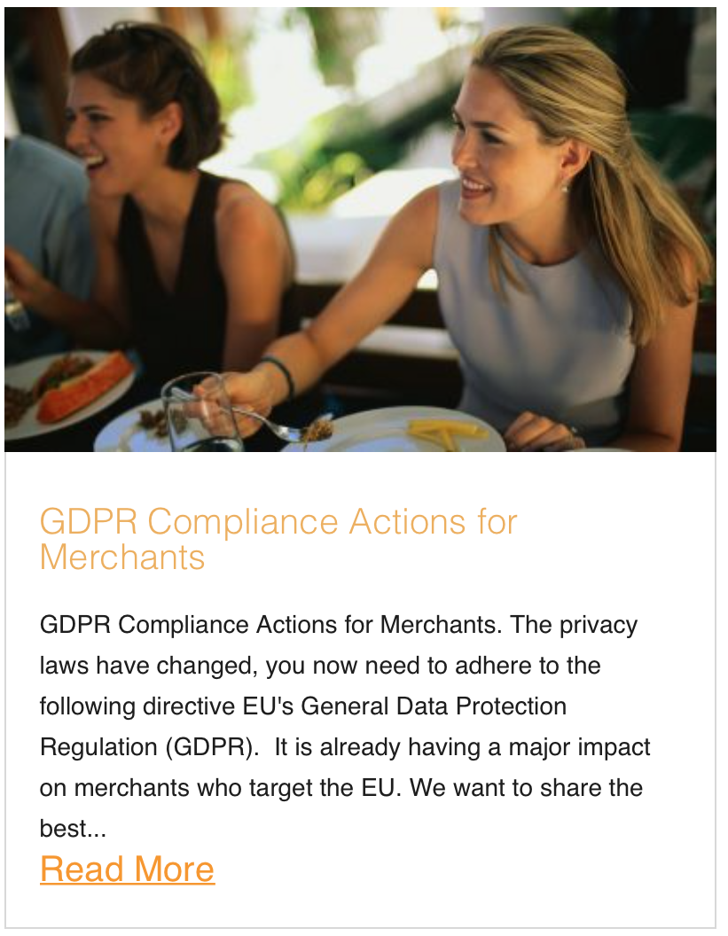 GDPR Compliance Actions for Merchants