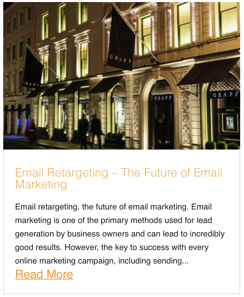Email Retargeting – The Future of Email Marketing