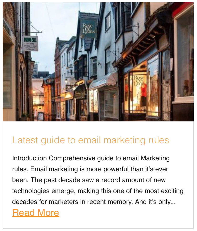 Latest guide to email marketing rules