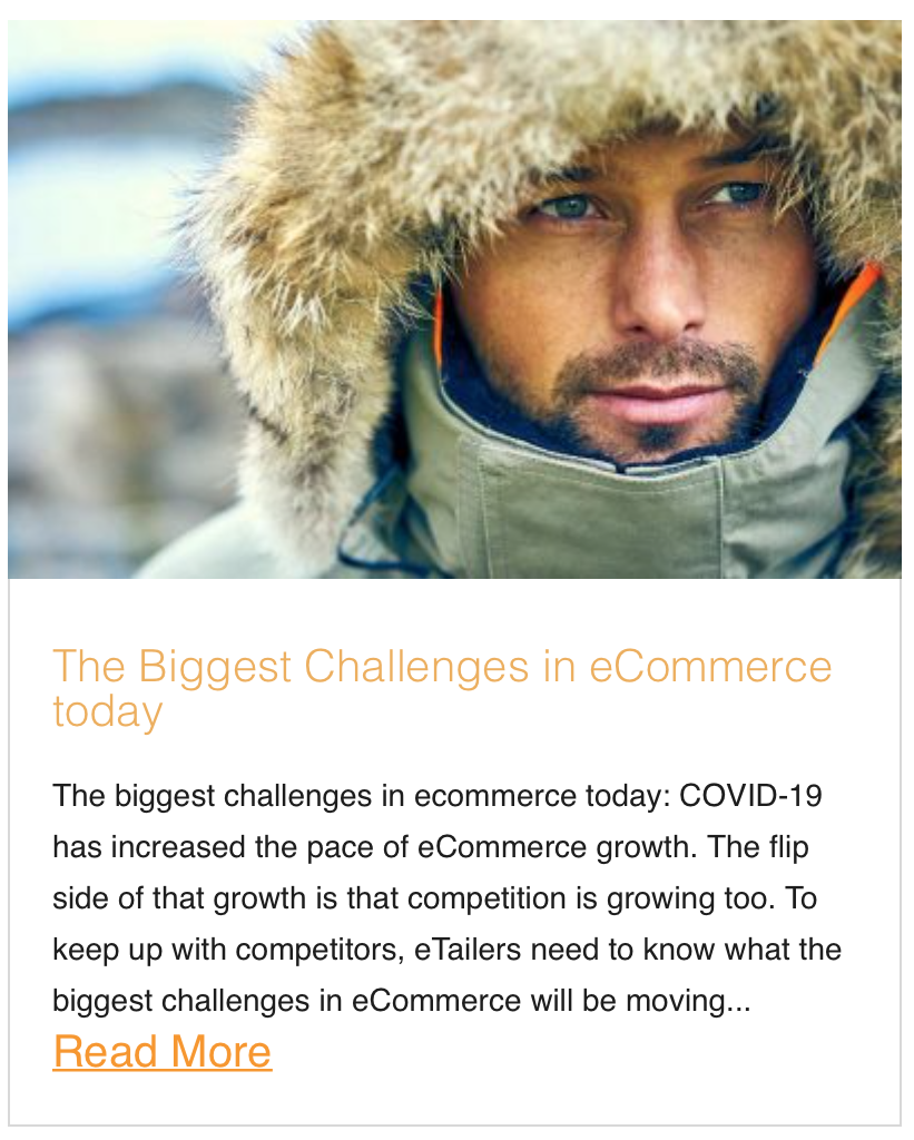 The Biggest Challenges in eCommerce today