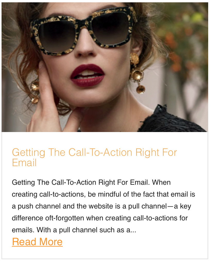 Getting The Call-To-Action Right For Email