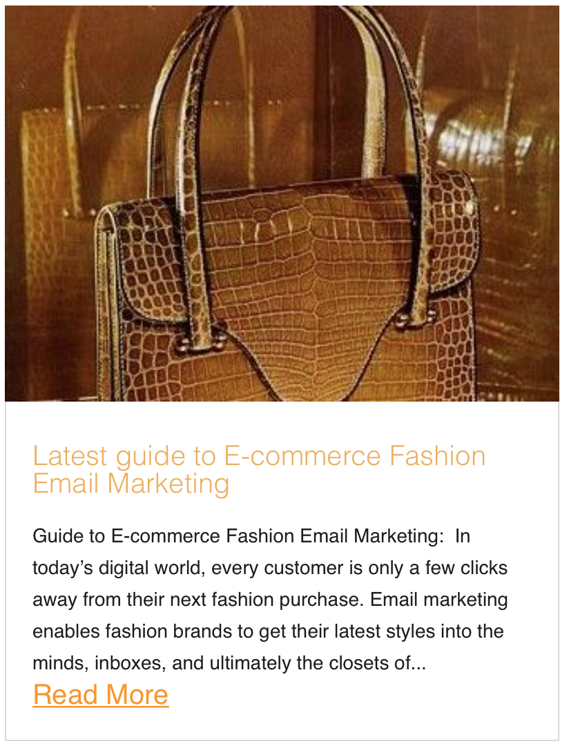 Latest guide to E-commerce Fashion Email Marketing