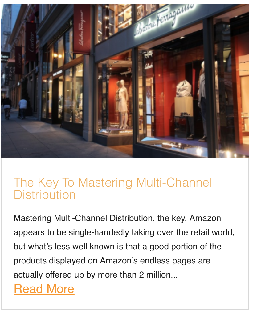 The Key To Mastering Multi-Channel Distribution