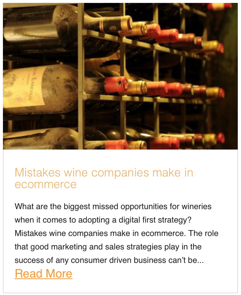 Mistakes wine companies make in ecommerce
