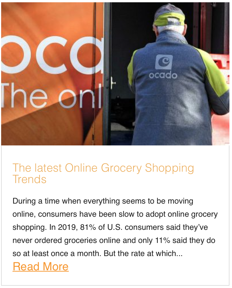 The latest Online Grocery Shopping Trends