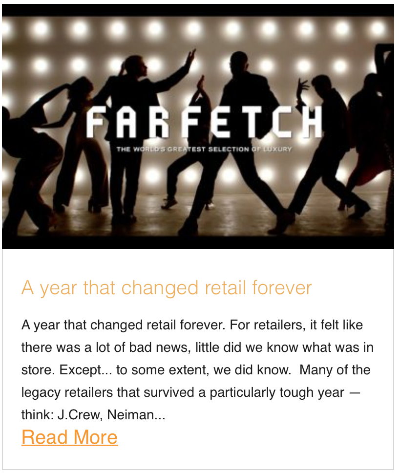 A year that changed retail forever