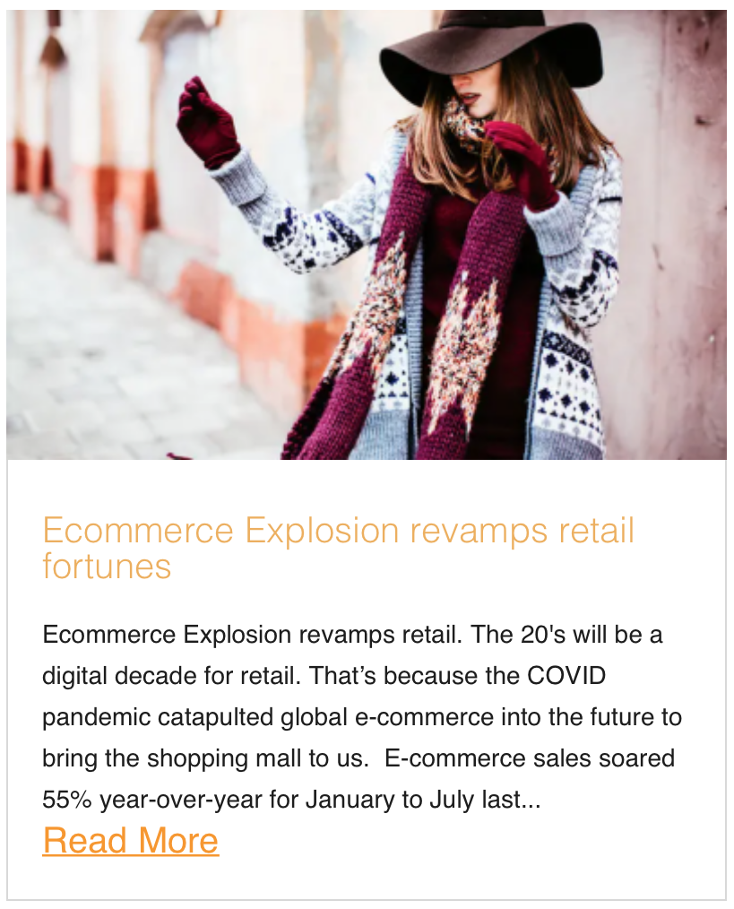Ecommerce Explosion revamps retail fortunes