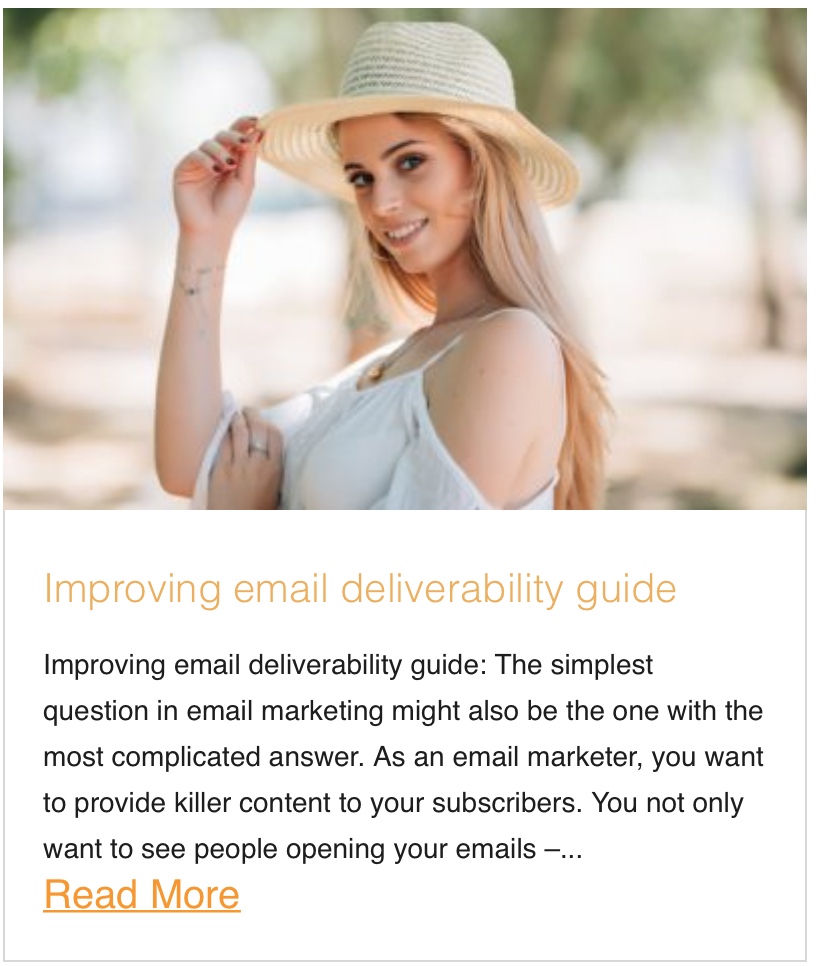 Improving email deliverability guide