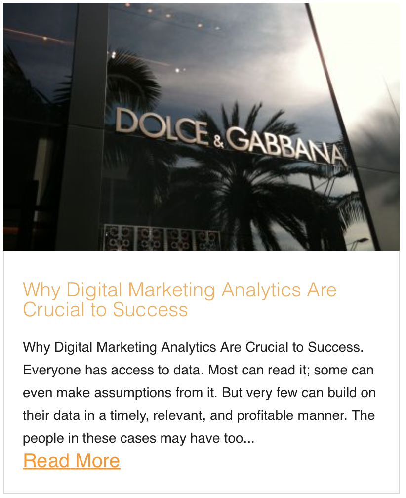 Why Digital Marketing Analytics Are Crucial to Success