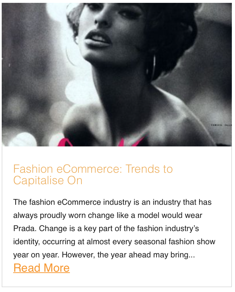 Fashion Ecommerce trends to Focus on