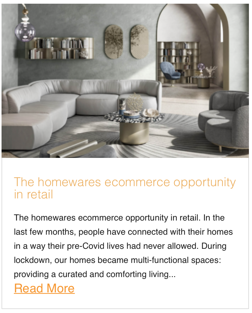 The homewares ecommerce opportunity in retail