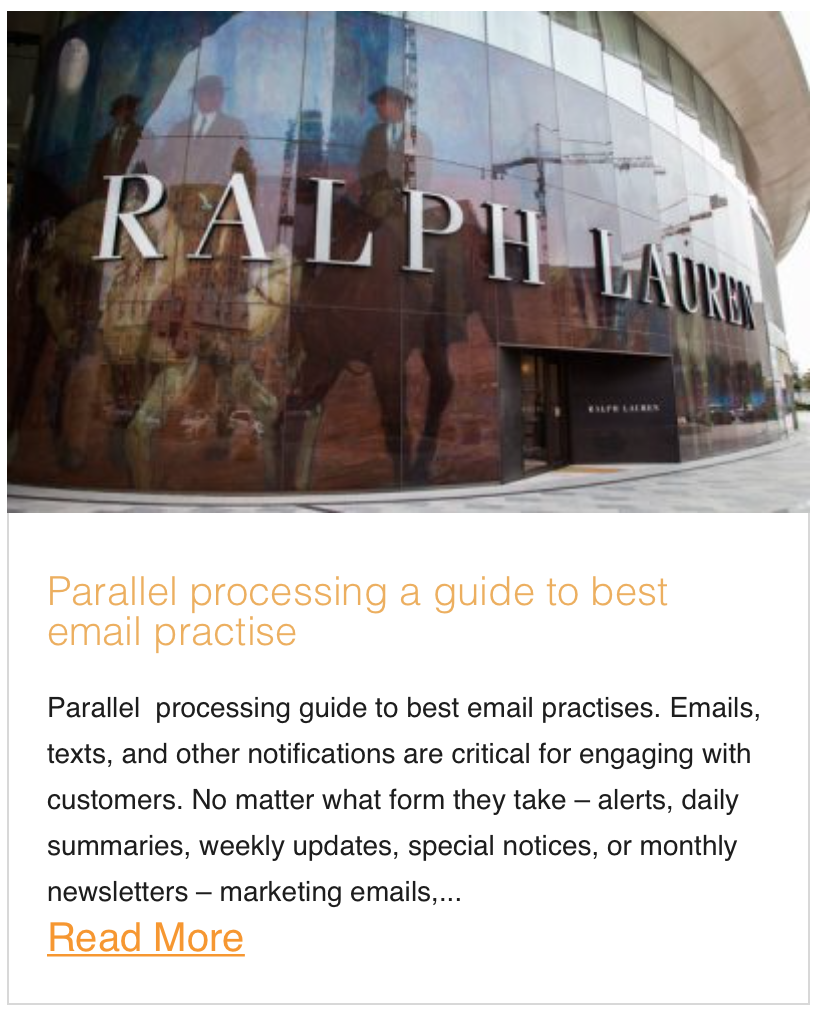 Parallel processing, a Guide to best Email Practise