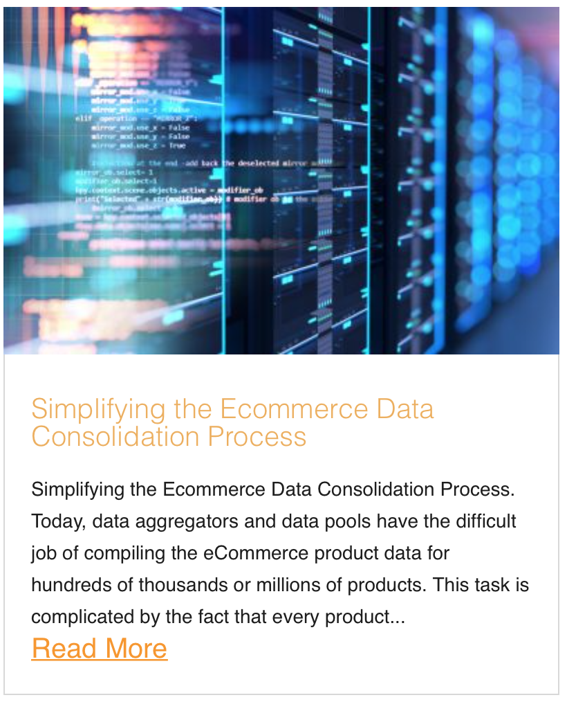Simplifying the Ecommerce Data Consolidation Process