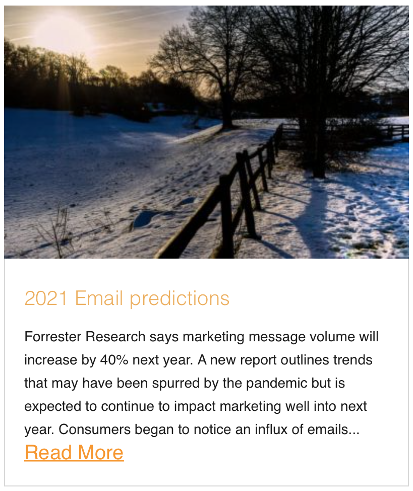 Email Predictions