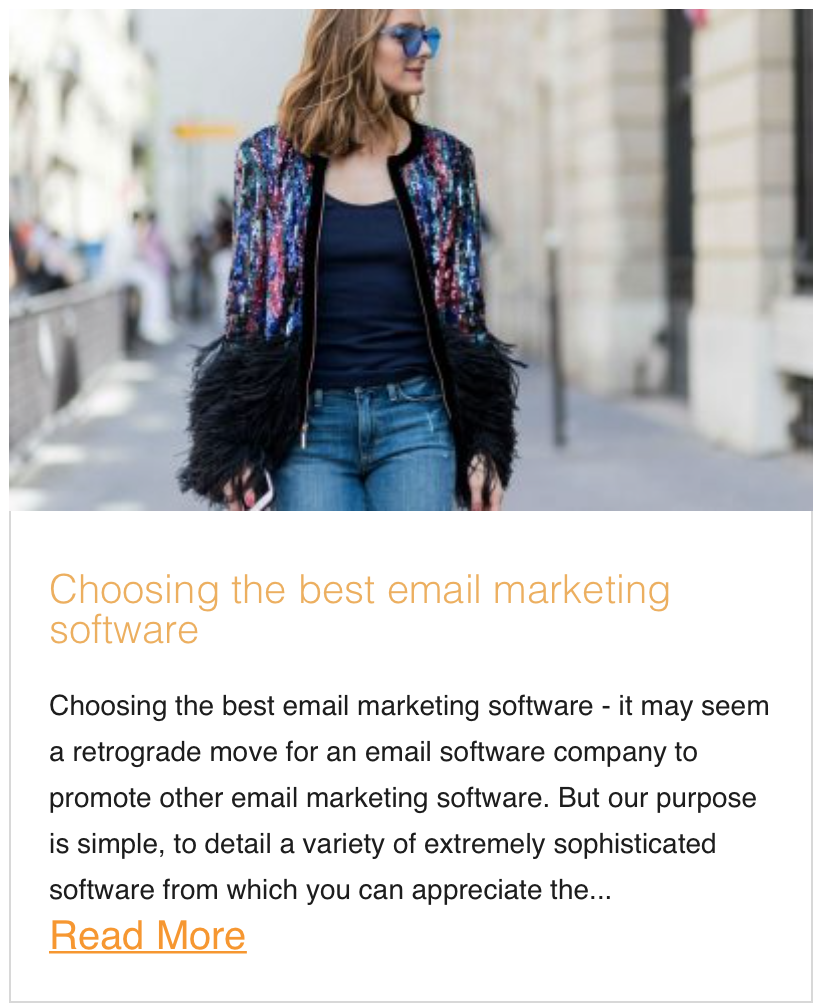 Choosing the best email marketing software