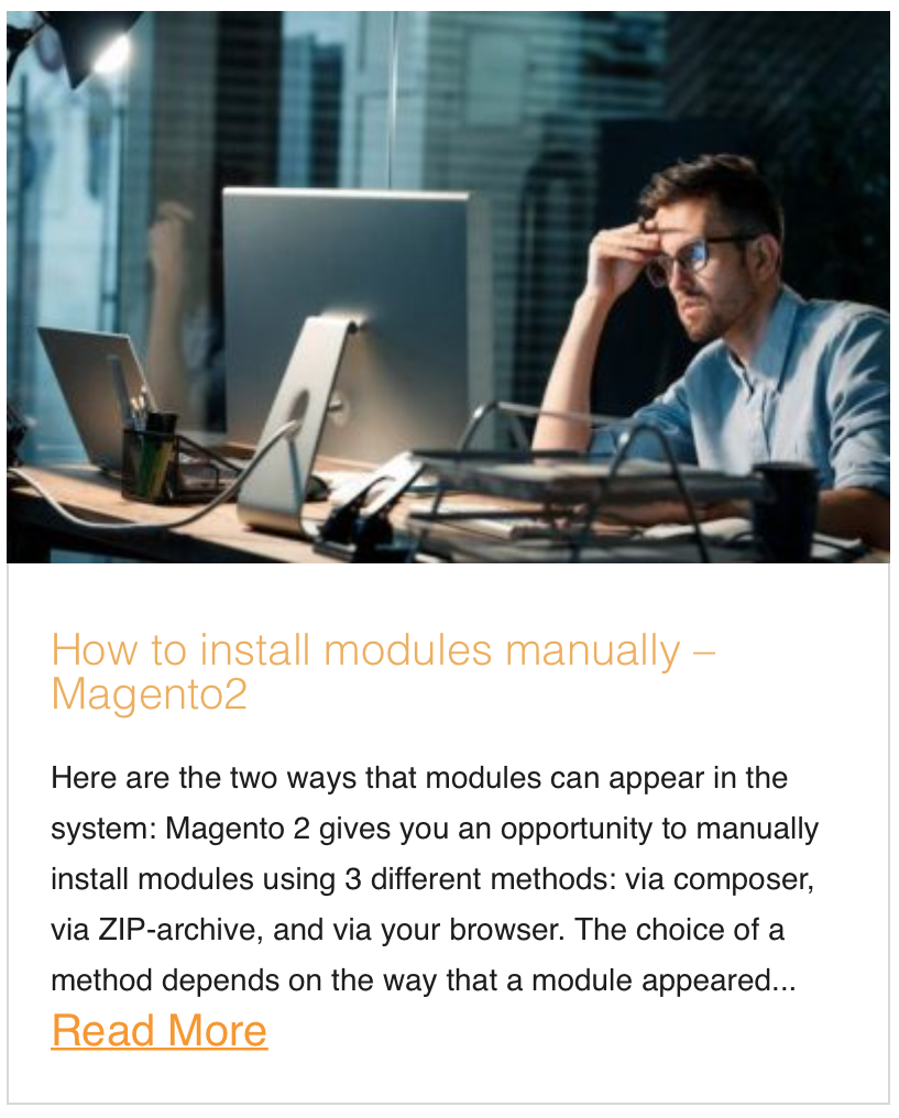 How to install modules manually – Magento2
