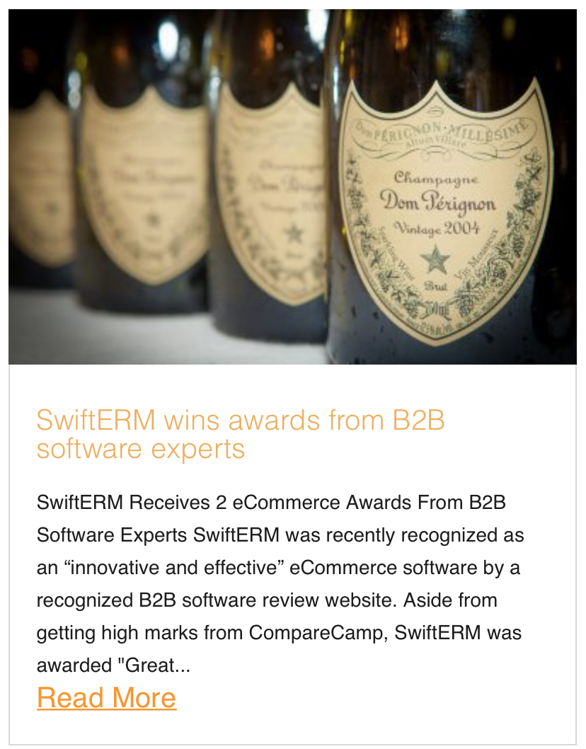 SwiftERM wins awards from B2B software experts
