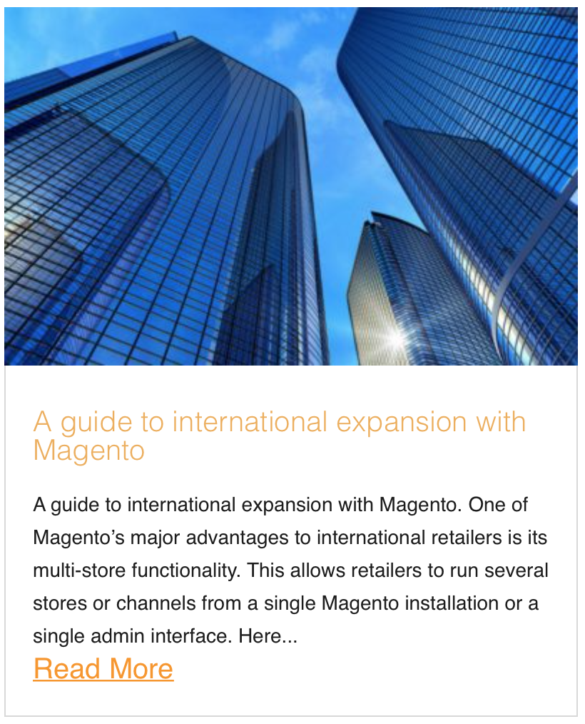 A guide to international expansion with Magento