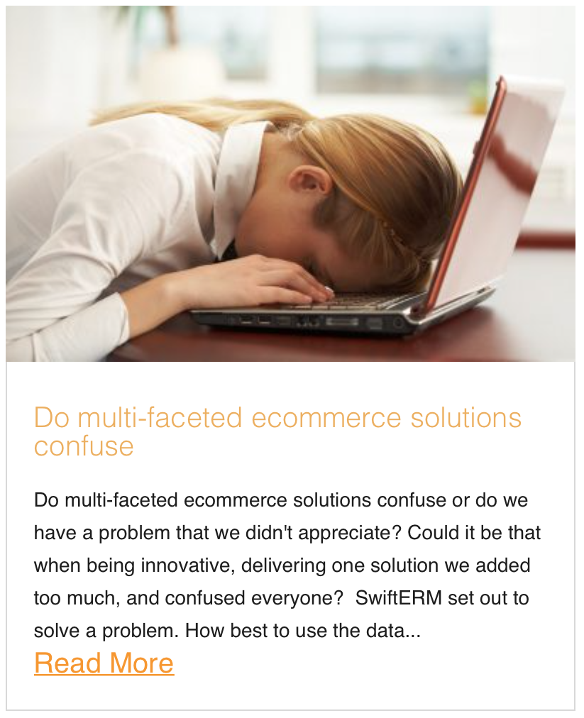 Do multi-faceted ecommerce solutions confuse