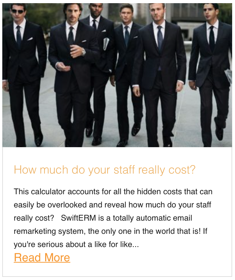 How much do your staff really cost?
