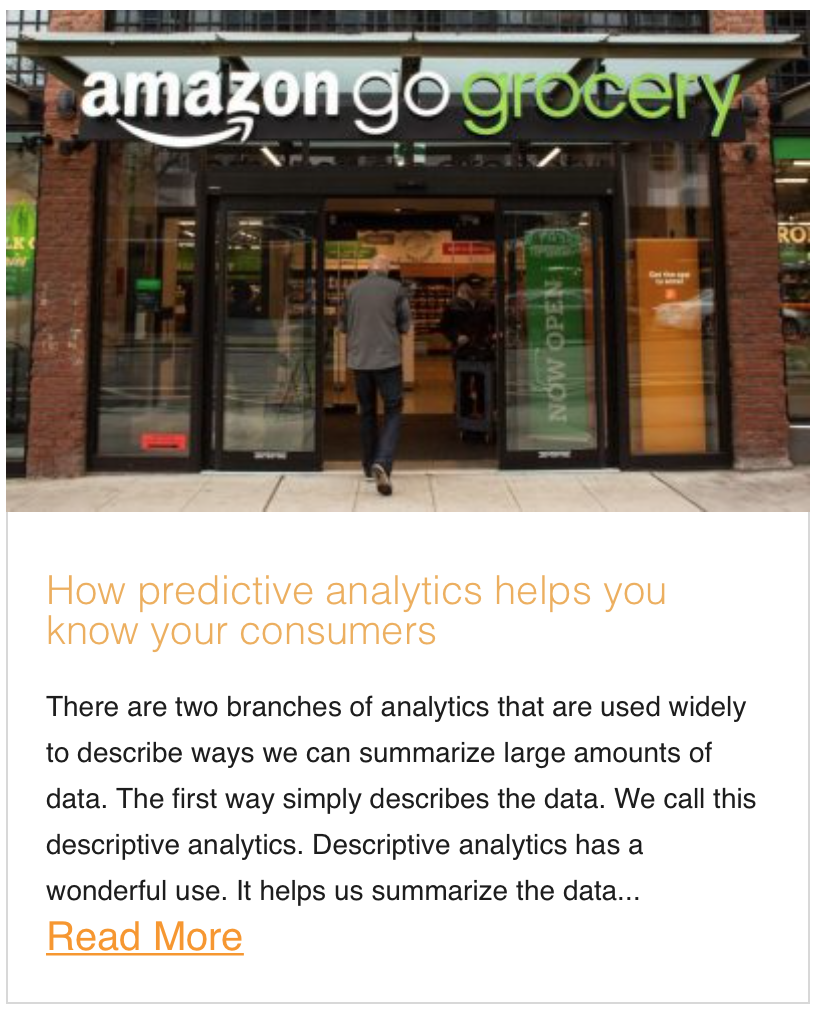 How predictive analytics helps you know your consumers