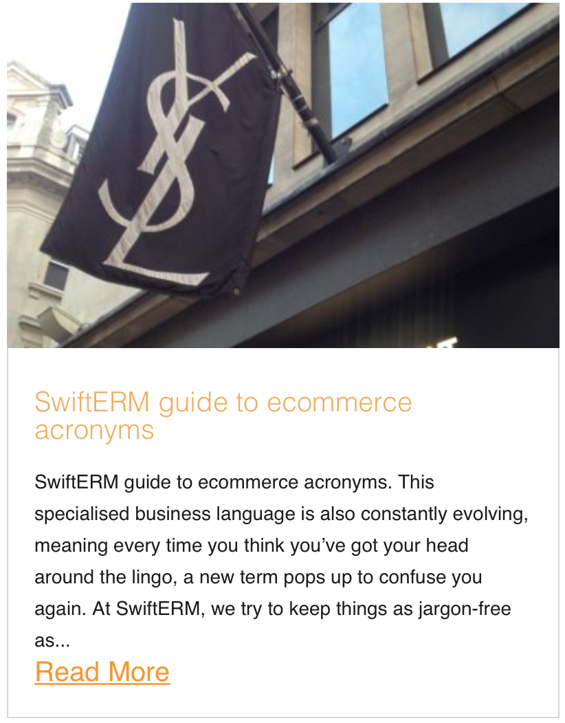 SwiftERM guide to ecommerce acronyms