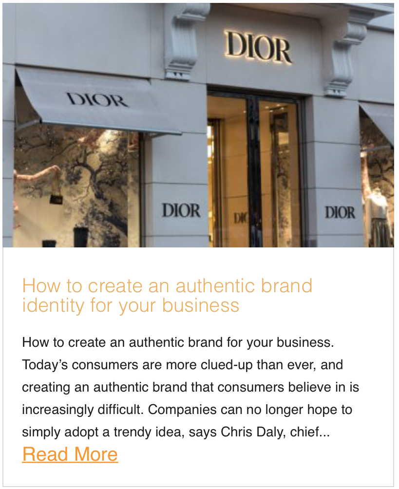 How to create an authentic brand identity for your business