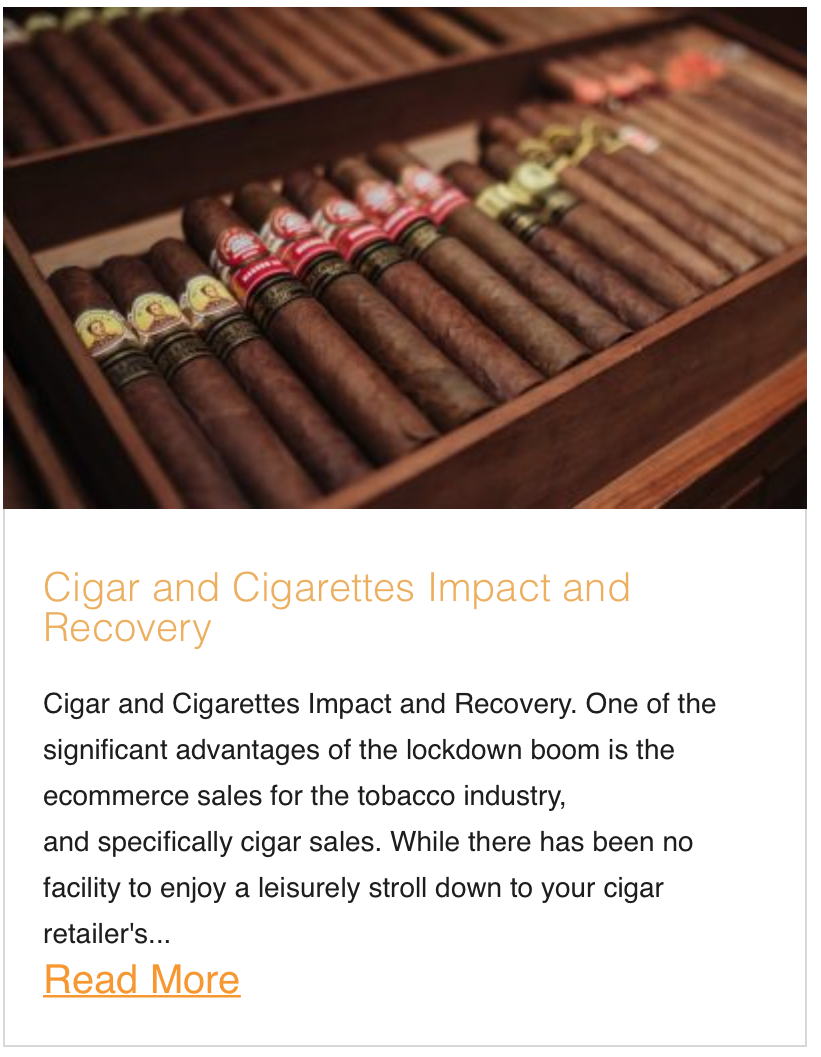 Cigar and Cigarettes Impact and Recovery