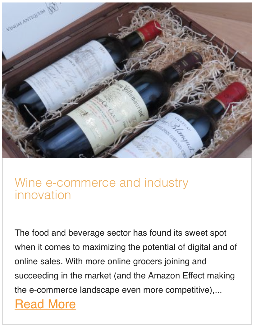 Wine e-commerce and industry innovation