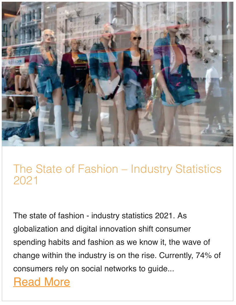 The State of Fashion – Industry Statistics 2021