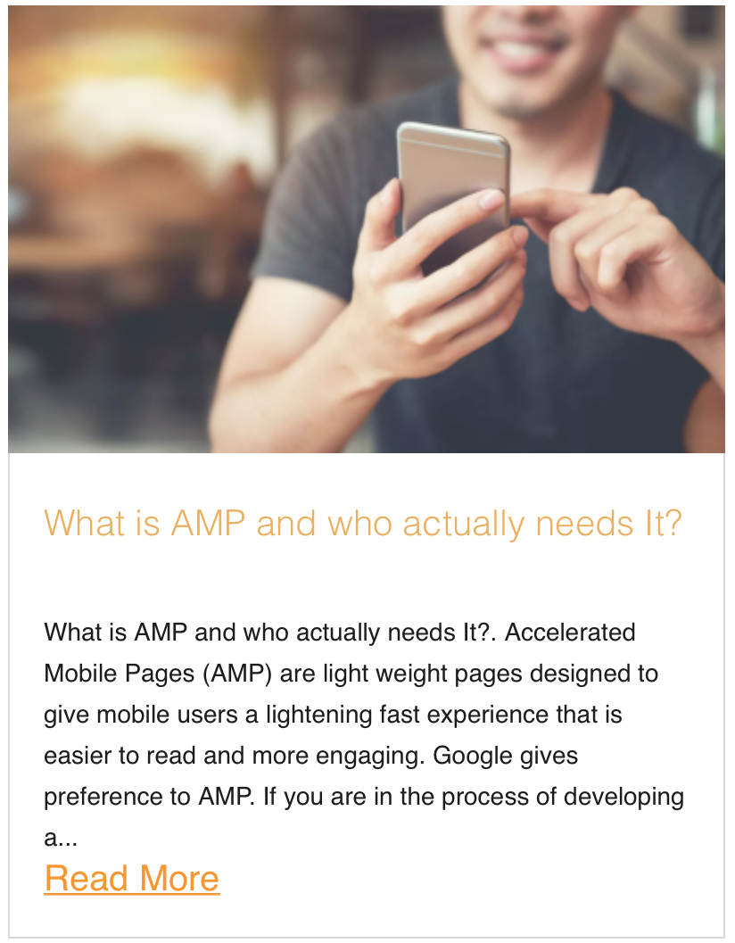 What is AMP and who actually needs It?