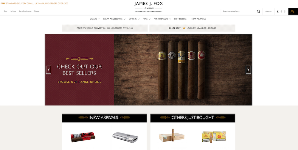 Ecommerce cigars, the companies, brands and retailers