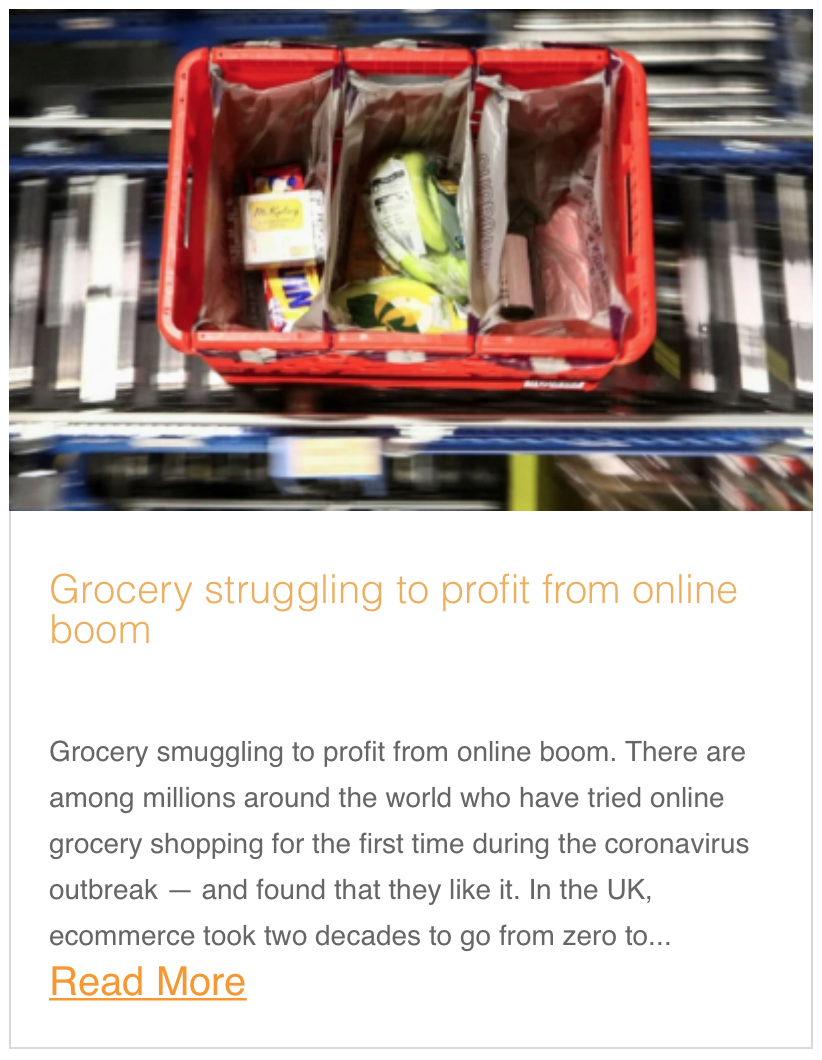 Grocery struggling to profit from online boom