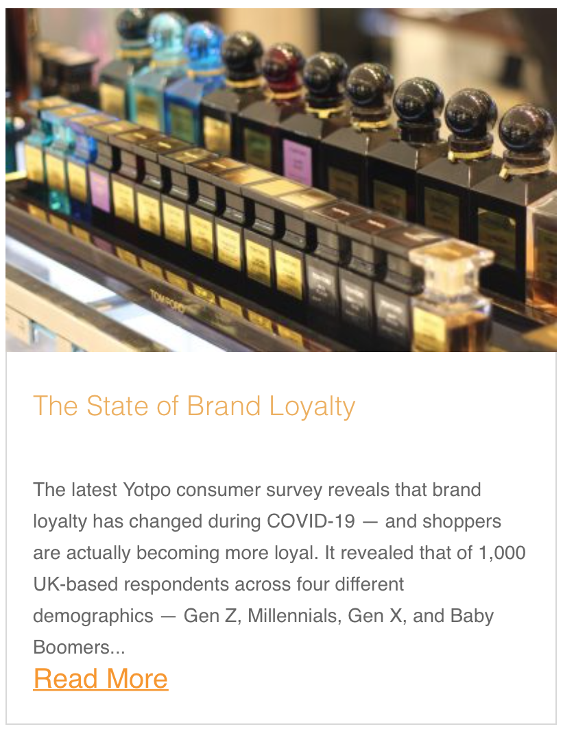 The State of Brand Loyalty