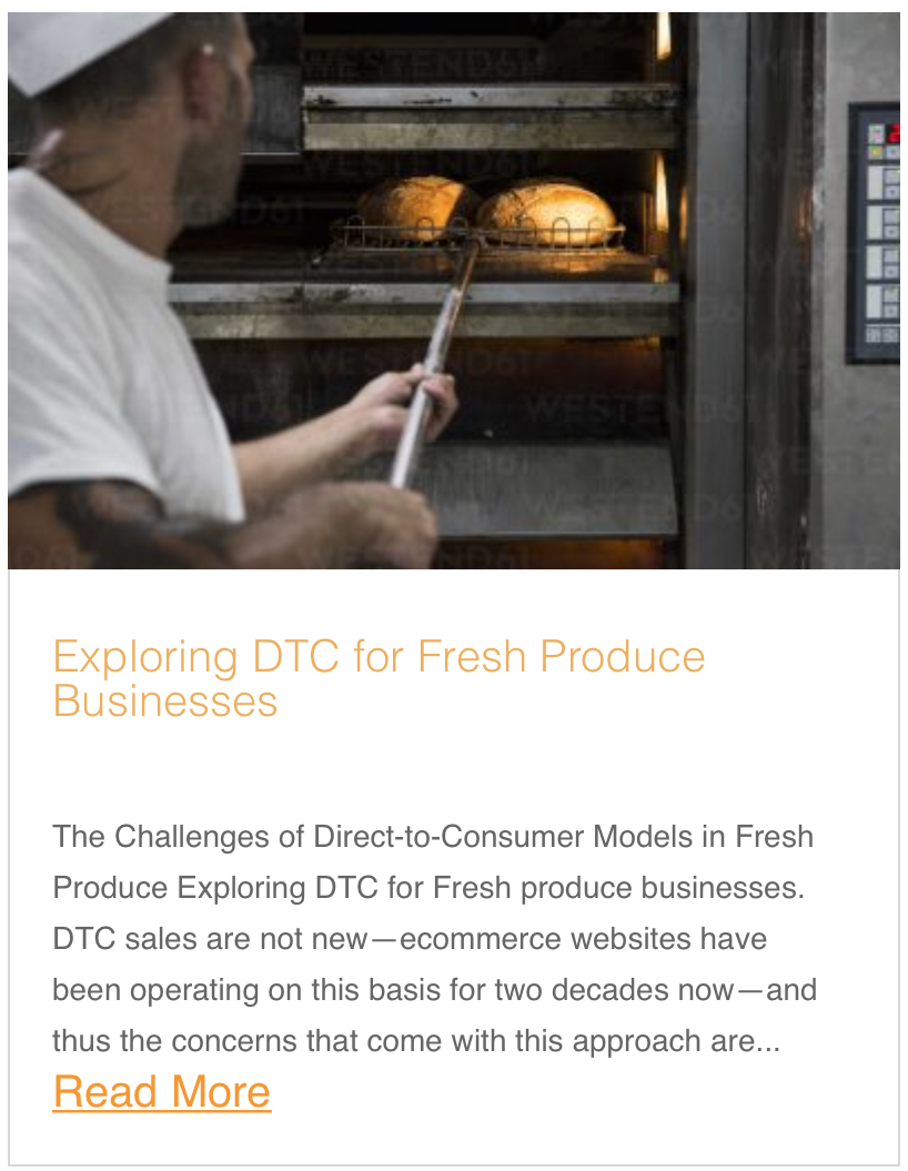 Exploring DTC for Fresh Produce Businesses