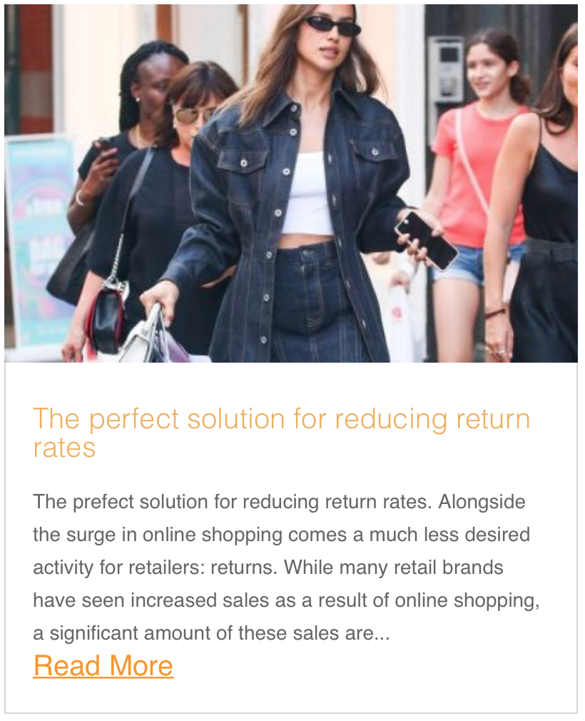 The perfect solution for reducing return rates