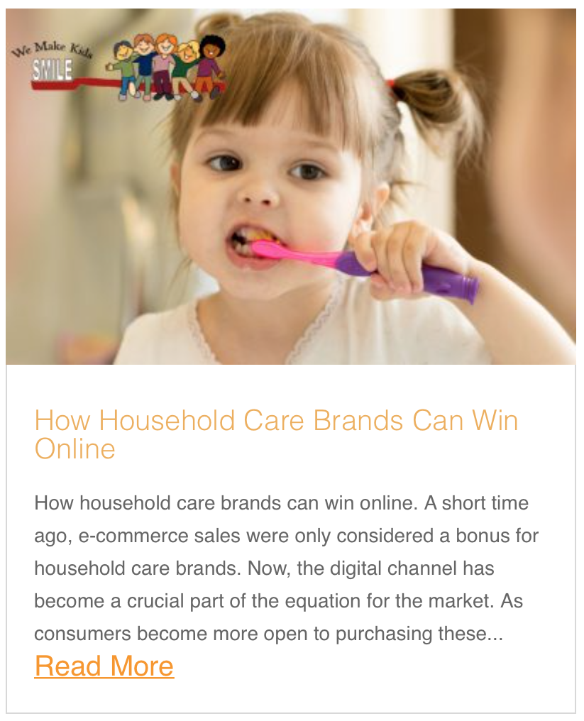 How Household Care Brands Can Win Online
